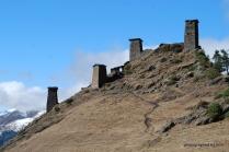 Festung in Alt-Omalo